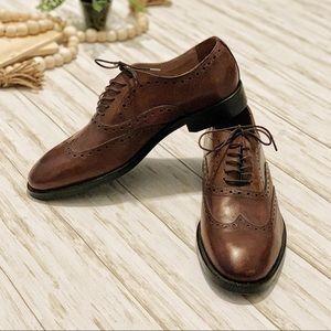 NWOT Banana Republic Men's Leather Shoes Sz 9.5